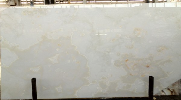 White Onyx Marble : Crystal white onyx marable slab house