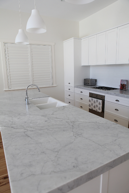 Kitchens Marable Slab House