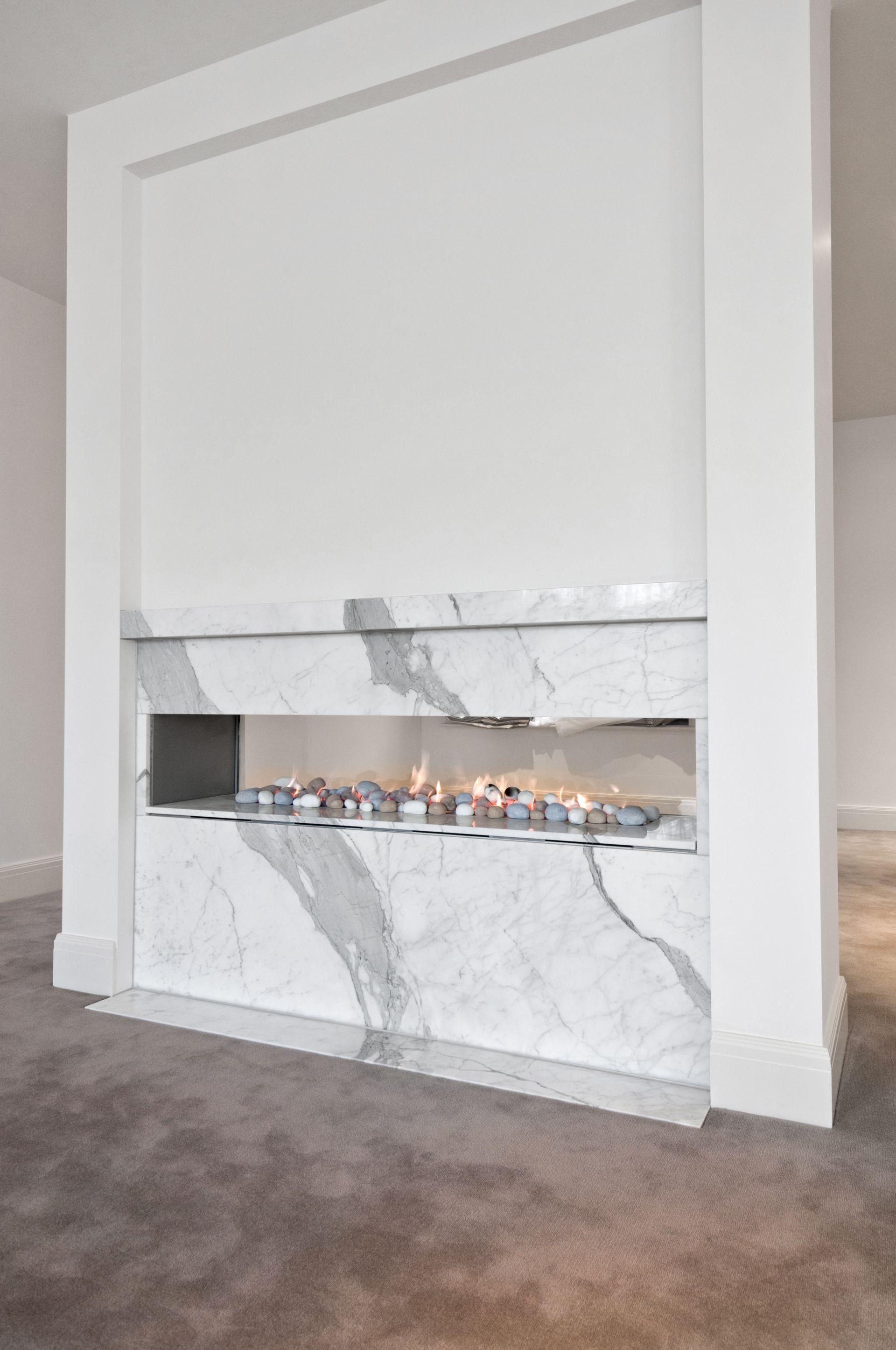 Fireplaces - Marable Slab House