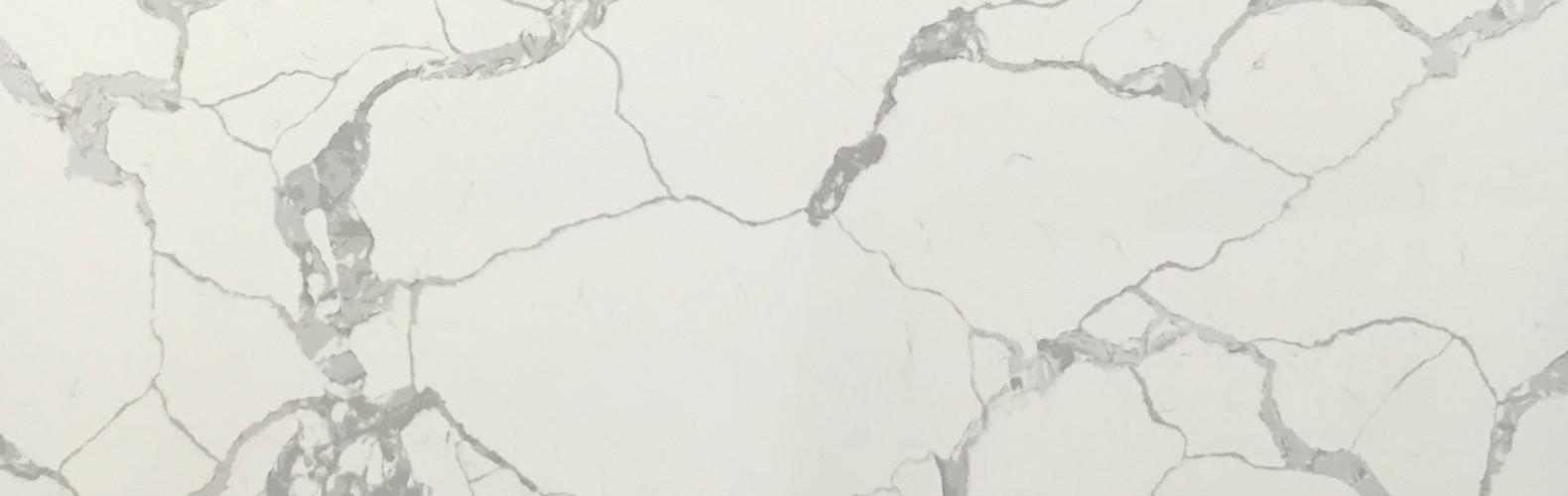 Calacatta Statuario Quartz Slab