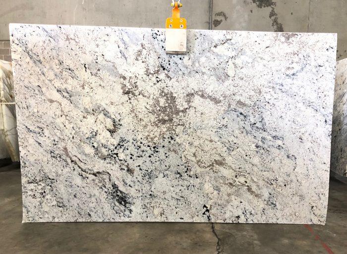 White Ice Granite Marable Stone Benchtops Sydney